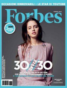 Giuseppe Cicero 100 under30 Forbes Italia