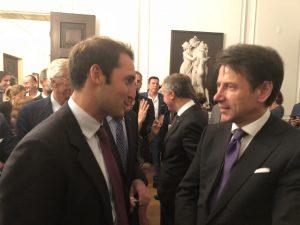 Giuseppe Cicero e il Premier Conte
