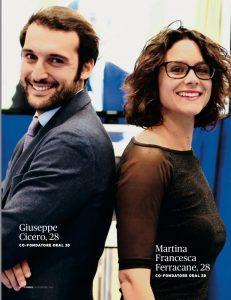 Giuseppe Cicero, Oral 3D, Forbes Italia
