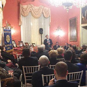 il dottor Giuseppe Cicero al Rotary International di Palermo