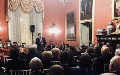 Il dottor Giuseppe Cicero ospite al Rotary International di Palermo