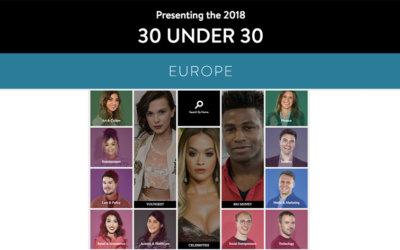 Oral3D inserita nella Forbes 30 under 30 list