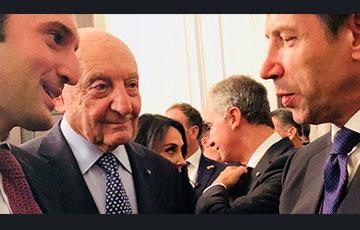Giuseppe Cicero meets Italian PM Conte